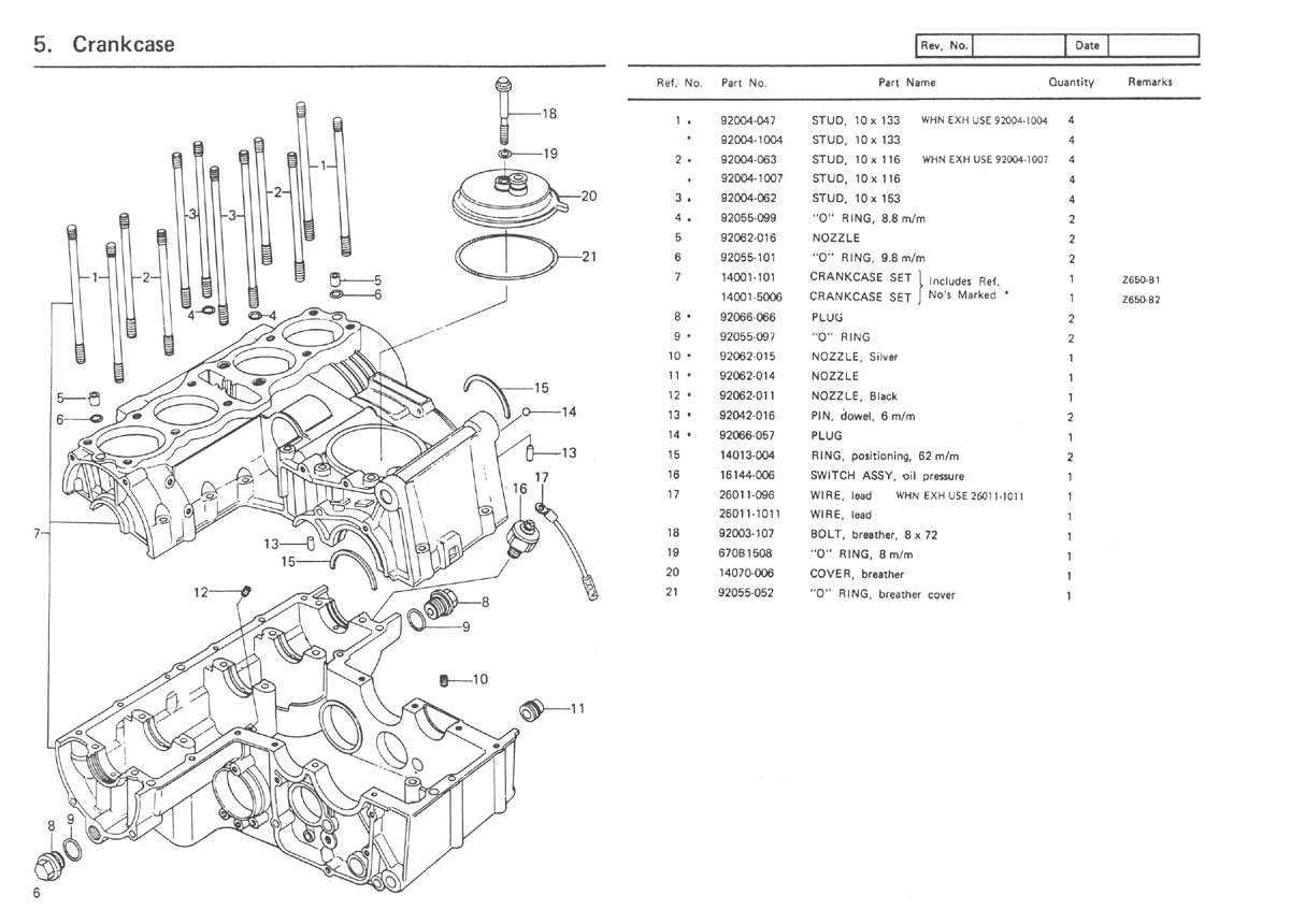 kz650 parts diagram kawasaki kz650 wiring diagram