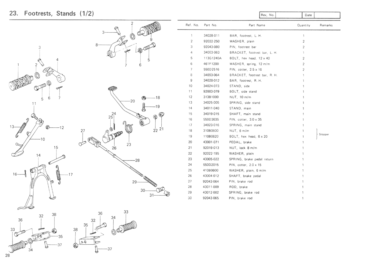 1977 kz650 wiring diagram kz650.info - b1 parts diagram kz650 parts diagram