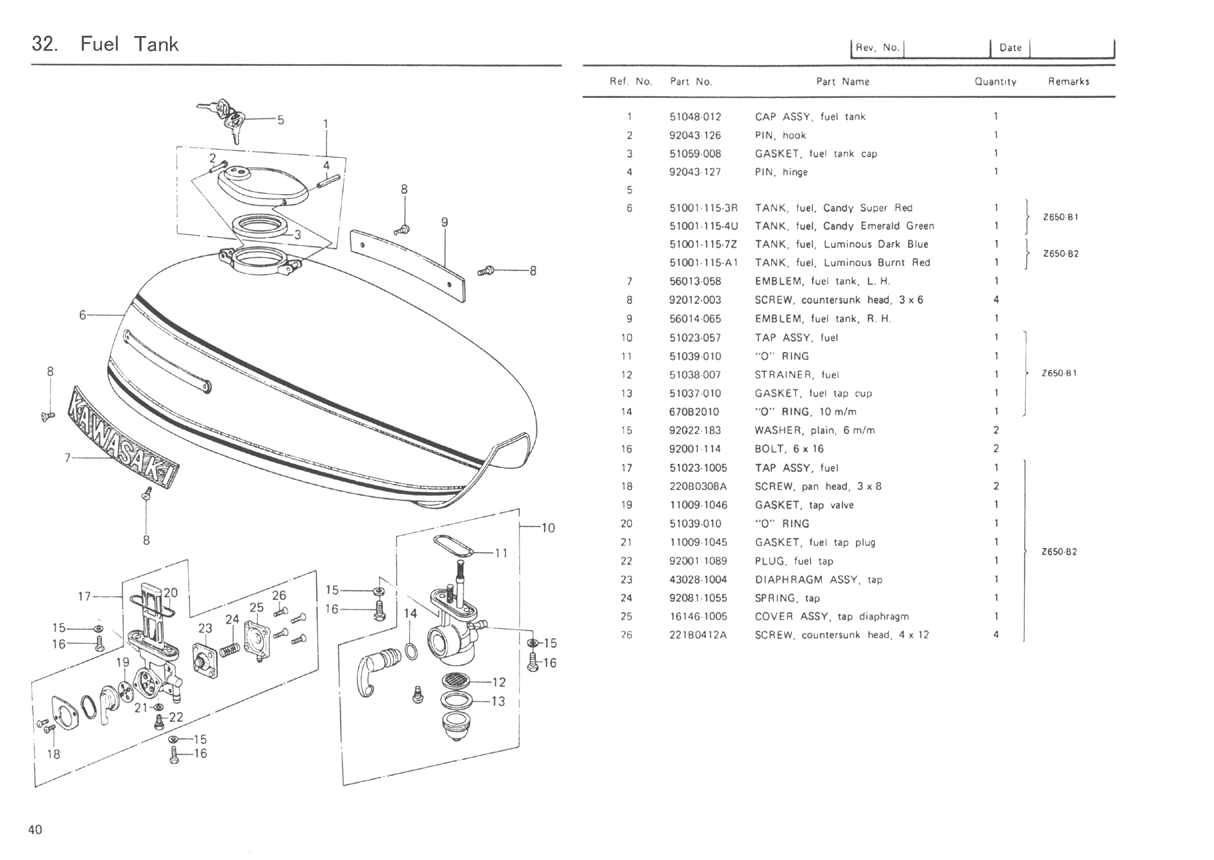 kz650.info - b1 parts diagram kz650 parts diagram 1986 kawasaki kz650 wiring diagram