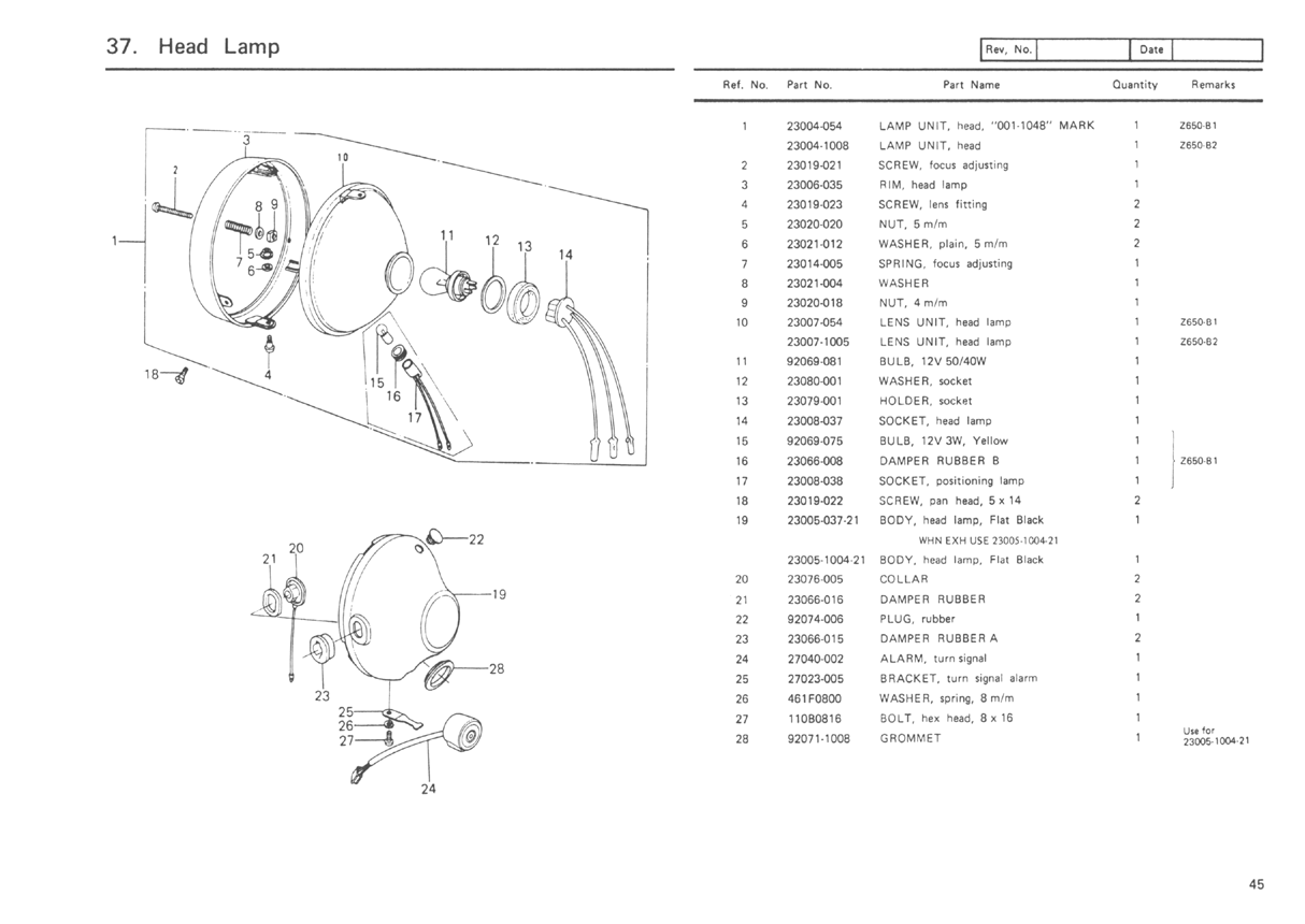 kz650.info - b1 parts diagram kawasaki kz650 wiring diagram free download schematic #6