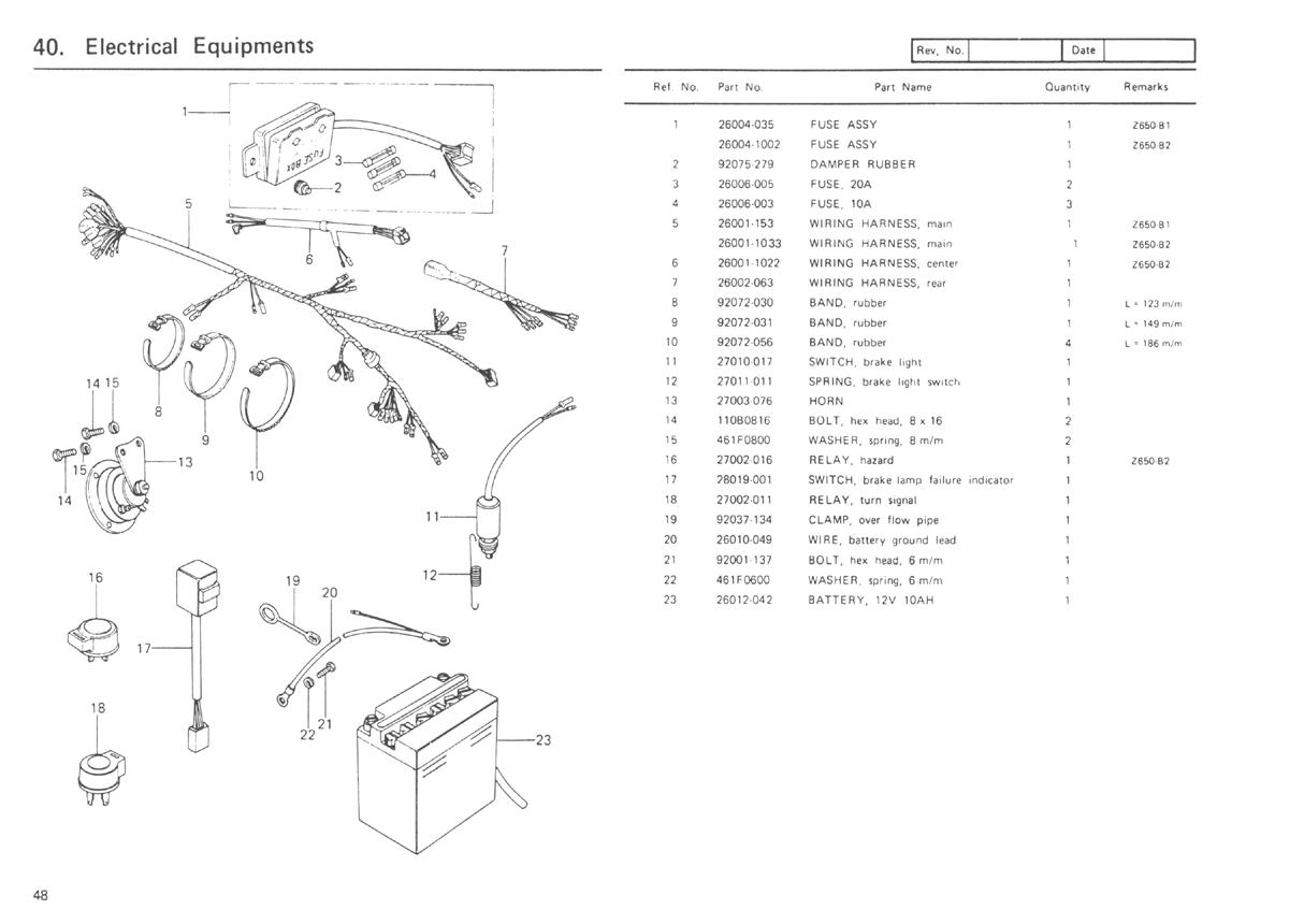 78 kz650 wiring diagram kz650.info - b1 parts diagram #3