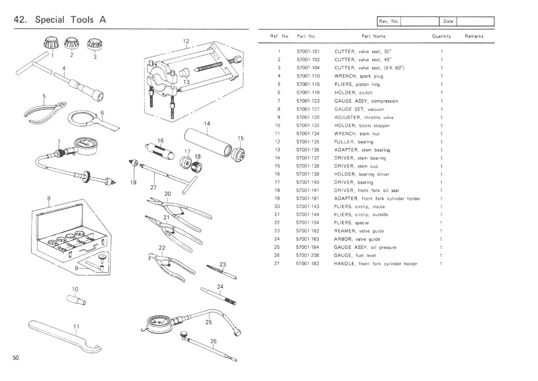 KZ650 info - B1 Parts Diagram